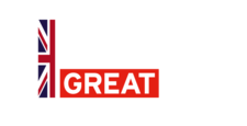 Education is Great Britain and Northern Ireland white logo clearance