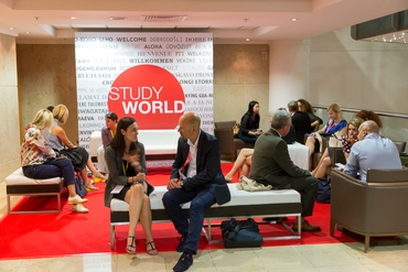 EnglishUK_StudyWorld_2014_NetworkingCoffee