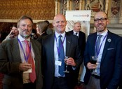 English_UK_Annual_Conference__AGM_2015_14_Reception_Roy_Cross_of_UKTI_Andrew_Fischer_of_OSCARS_Crichton_Brauer_of_Globus_Moscow